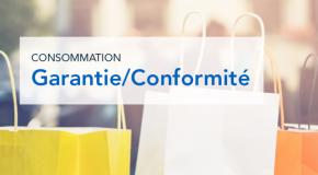GARANTIE LÉGALE DE CONFORMITÉ