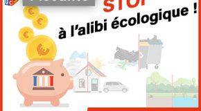 Fiscalité : stop à l'alibi écologique !