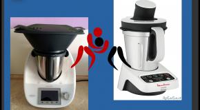 Robots cuiseurs (vidéo)  Le match i-Companion Touch XL (Moulinex) et Thermomix TM6