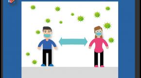 Covid-19  Comment l'infection se propage à plus d'un mètre
