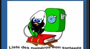 Numéros de services clients gratuits  La liste des numéros non surtaxés                                                                                                                                                       Mise à jour le: 04/01/2021