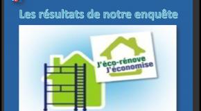 Travaux d'économie d'énergie (infographie) Vous et la rénovation énergétique de votre logement